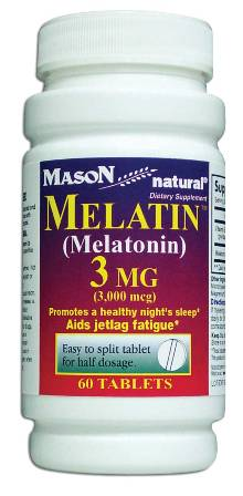 Image 0 of Melatin (Melatonin) 3 mg Dietary Supplement Tablets 60