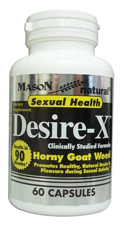 Image 0 of Desire-X Clinically Studied Formula Horny Goat Weed Dietary Supplement Capsules