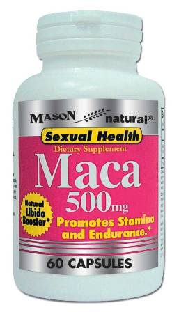 Image 0 of Maca 500mg For Sexual Health Dietary Supplement Capsules 60