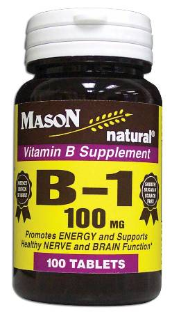 Image 0 of Vitamin B Supplement B-1 100 mg Tablets 100