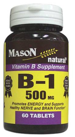 Image 0 of Vitamin B Supplement B-1 500 mg Tablets 60