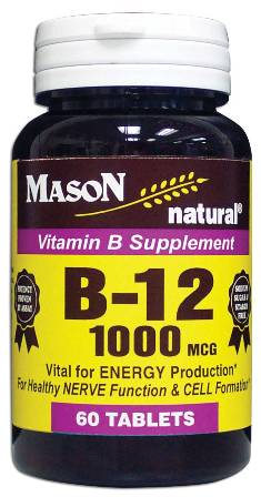 Image 0 of Vitamin B Supplement B-12 1000 Mcg Tablets 60