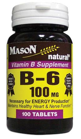 Image 0 of Vitamin B Supplement B-6 100 mg Tablets 100