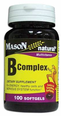 Image 0 of Multivitamin B-Complex Dietary Supplement Natural Softgels 100