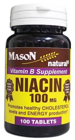 Image 0 of Niacin 100 mg Vitamin B Supplement Tablets 100