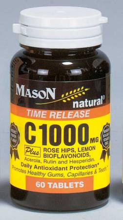 Image 0 of C1000 mg Time Release Plus Rosehips Plus Bioflavonoids Tablets 60(Discontinue)