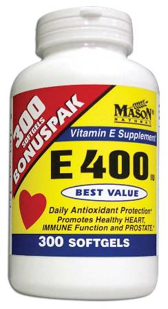 Image 0 of E 400 Units Dl Alpha Tocopheryl Vitamin E Bonuspak Dietary Supplement Softgels 3