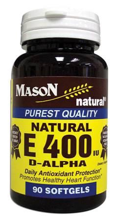 Image 0 of E 400 Units D-Alpha Tocopheryl Purest Quality Softgels 90