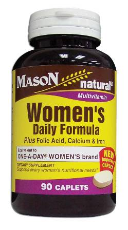 Image 0 of Women's Daily Formula Plus Folic Acid Calcium & Iron Multivitamin Tablets 90
