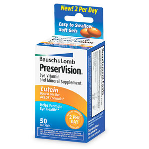 Image 0 of Preservision With Lutein Multivitamin 50 Soft Gels