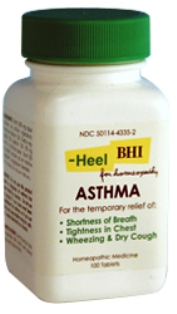 Asthma By Heel Tablets 100