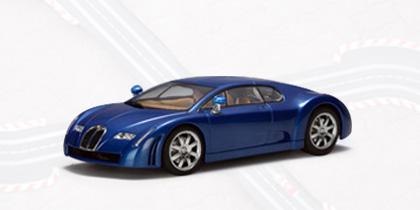 AUTOArt Bugatti EB 18.3 Chiron 1:32 Slot Car - Blue 13391