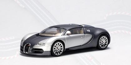 AUTOart #13292 Bugatti EB 16.4 Veyron 1:32 slot car - Grey/Silver