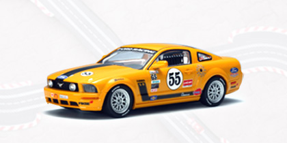 AUTOart Ford Mustang FR500C #55 1:32 Slot Car 13722