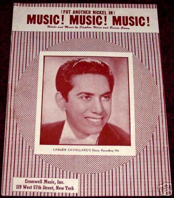 Kampko Vintage Sheet Music Shoppe