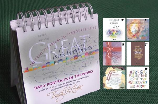 Thumbnail of Daily Portraits of the Word