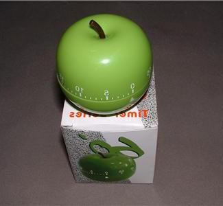 Kitchen - Apple timer kitchen cooking green bake cook garden :  cooking baking cook apple timer