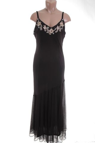 R M Richards Black Dress 14 nwt new :  black dress women misses little black dress
