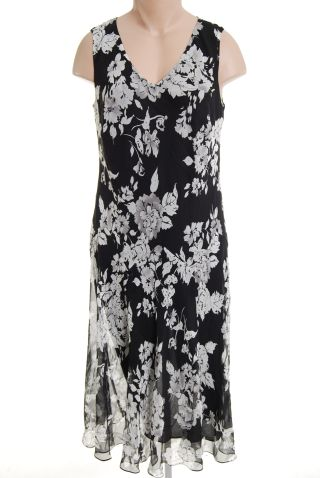 Charter Club 18W Dress Plus Size Silk nwt new