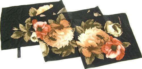 Ellen Tracy Silk Scarf Floral Vintage :  wraps scaeves silk scarf floral pure silk