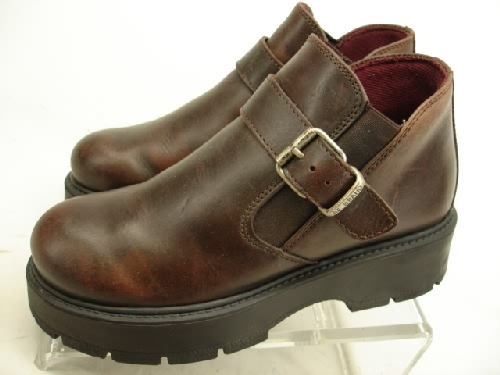 Ankle Boots 10 M Brown Leather American Eagle New Hike Snow :  american eagle winter nwob hike