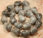 Gem & Glass Beads - Gemstone Beads - Black White Gray Agate Gemstone Briolette Beads :  gemstone jewelry chunks loose beads