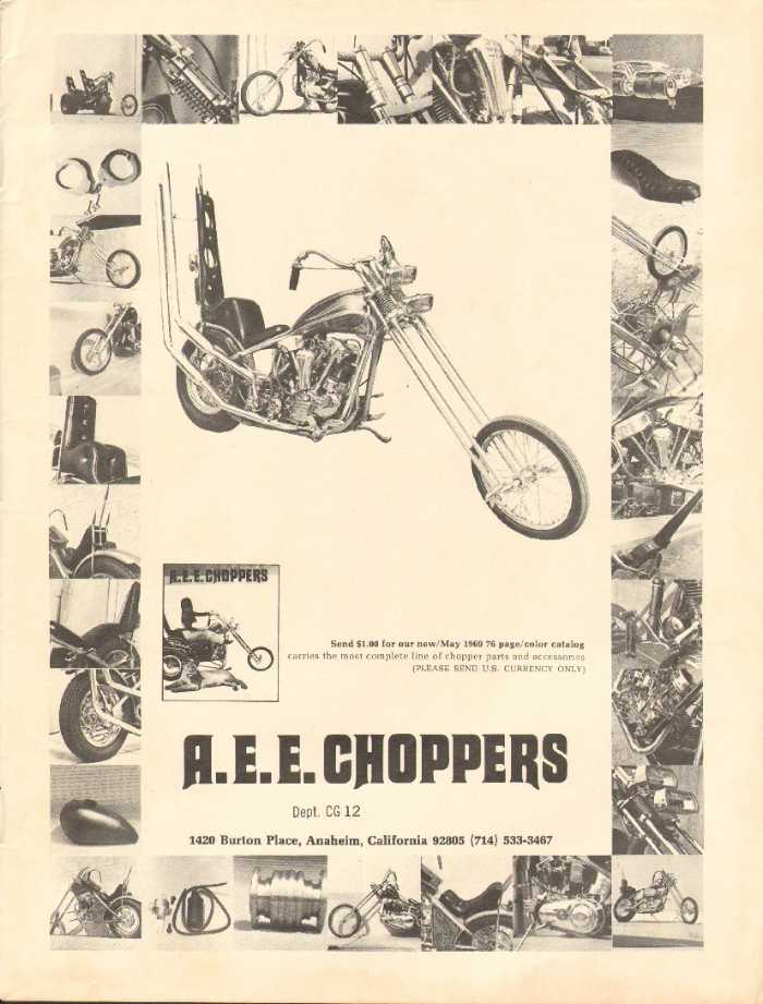 AEE Choppers: A frame that never was.but its very