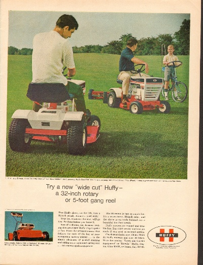 Huffy Lawn Tractor - YouTube