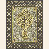 Celtic Cross Knot   CROSS STITCH PATTERN CHART