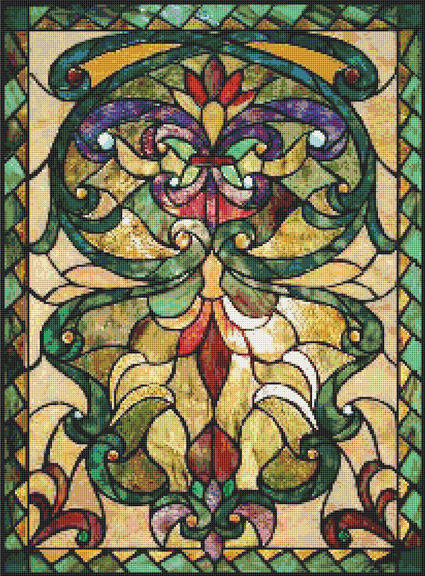 glass pattern 111.jpg | stained glass patterns | Pinterest