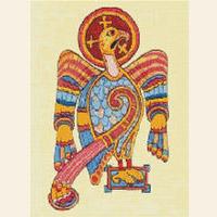 Celtic Eagle Book of Kells CROSS STITCH PATTERN CHART