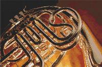 FRENCH HORN Music Jazz   CROSS STITCH PATTERN CHART