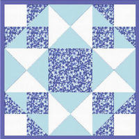 QUILT BLOCK David s Crown   CROSS STITCH PATTERN