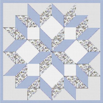 Free Quilt Patterns: Sunbonnet Sue and Sam Quilt and Quilt