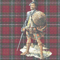 MACLAINE MacLean Scottish Tartan  CROSS STITCH PATTERN