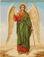 Archangel Angel Michael Cross Stitch Pattern Chart