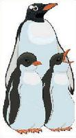 Cross Stitch Pattern Chart Penquin Family