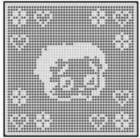 CROCHET PATTERN GRAPH BETTY BOOP AFGHAN CHART E-MAIL .PDF BUY 2