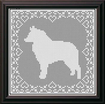 Crochet Chair Set Pattern - Free Crochet Motif Pattern for