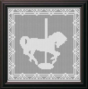 Free Filet Crochet Horse Pattern Traitoro For