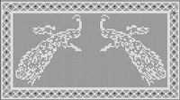 Find a beautiful pattern in free filet crochet charts. | Simply