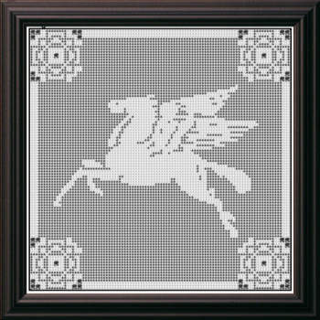 Filet Crochet Pattern Set 61