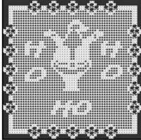 Crochet Patterns - SANTA CLAUS Afghan pattern | eBay