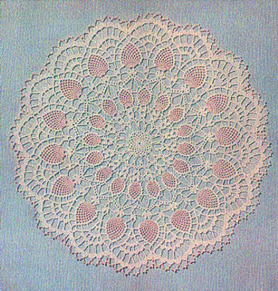 FREE VINTAGE CROCHET DOILY PATTERNS | Lena Patterns