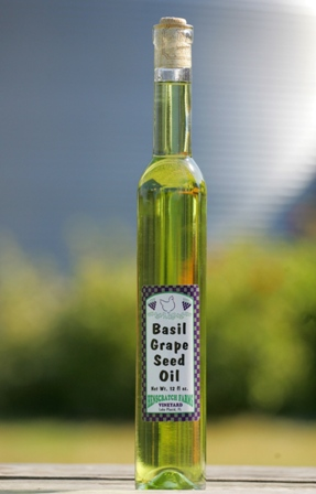 Basil Infused Grapeseed Oil