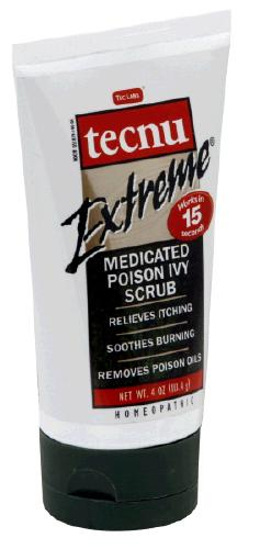 Image 0 of Tecnu Extreme Medicated Poison Ivy Scrub Liquid 4 Oz