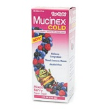 Mucinex Cold Child Mixed Berry Flavor 4 Oz