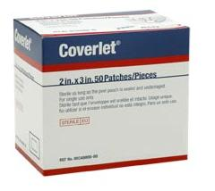 Coverlet Bandages 2x3 Patches 50 Ct.