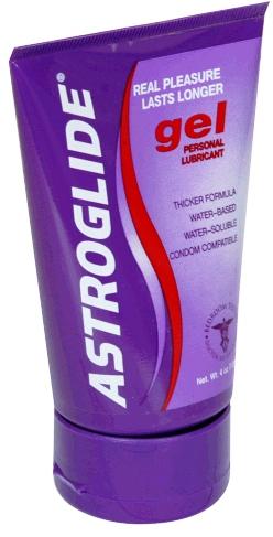 Astroglide Personal Lubricant Gel 4 Oz.