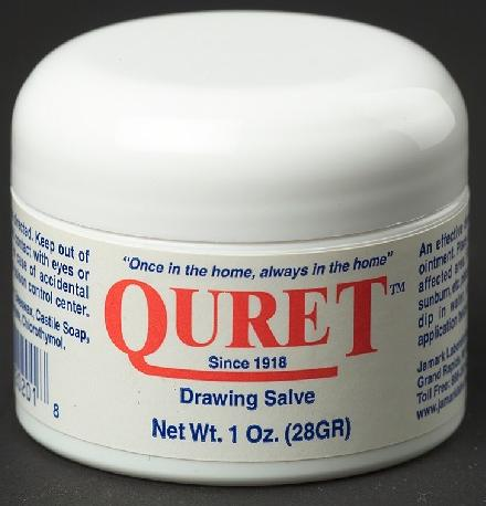 Quret Drawing Salve Ointment 1 oz